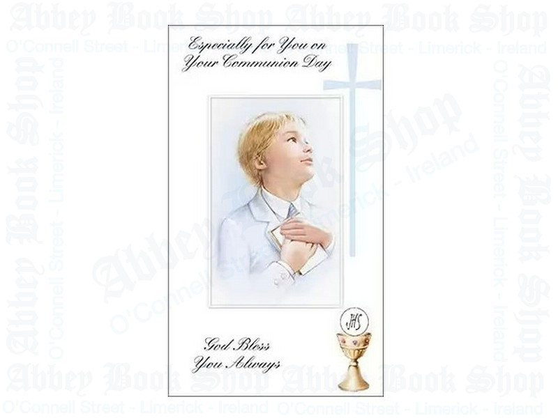 Communion Card/Boy