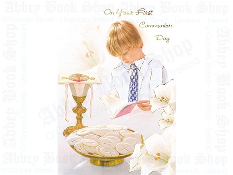 Communion Card/Boy