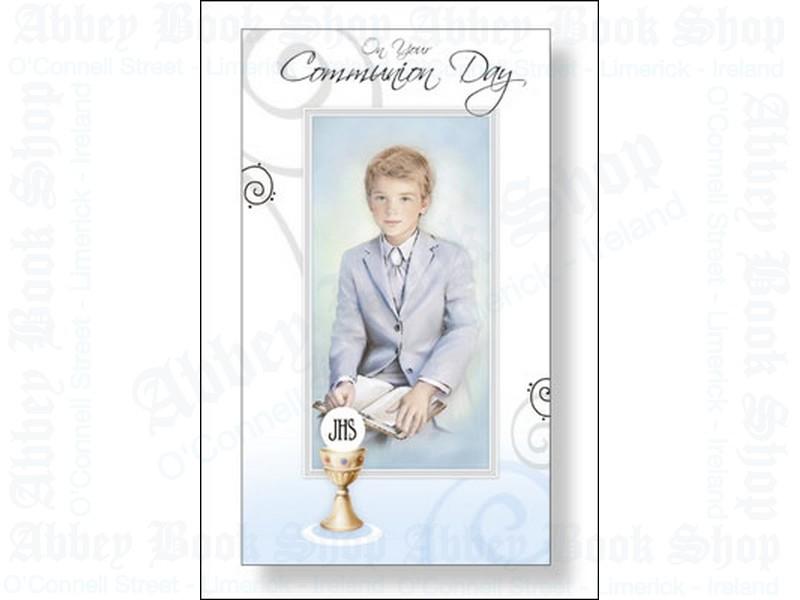 Communion Card – Boy
