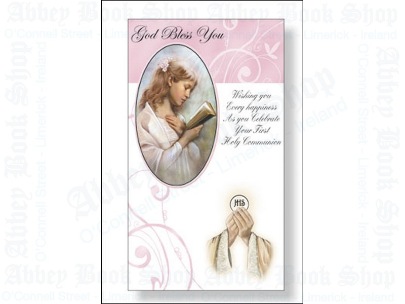 Communion Card/Girl