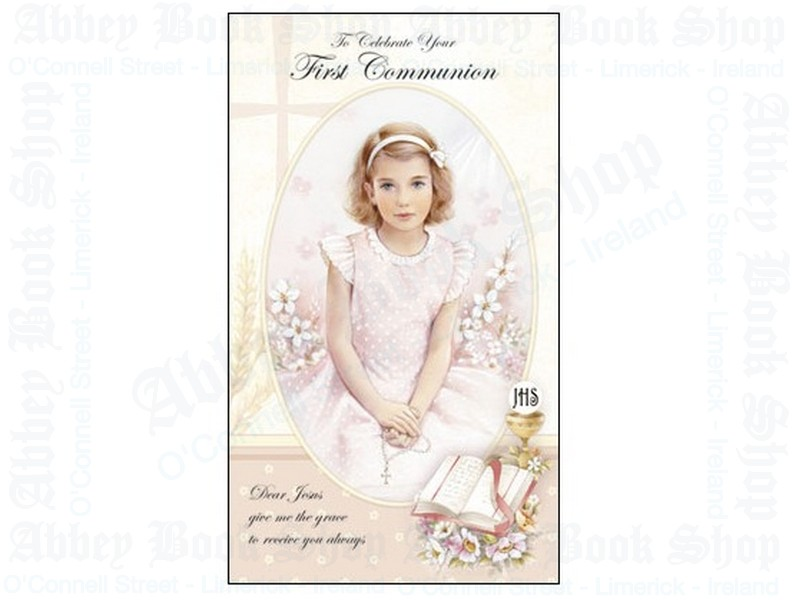 Communion Card – Girl