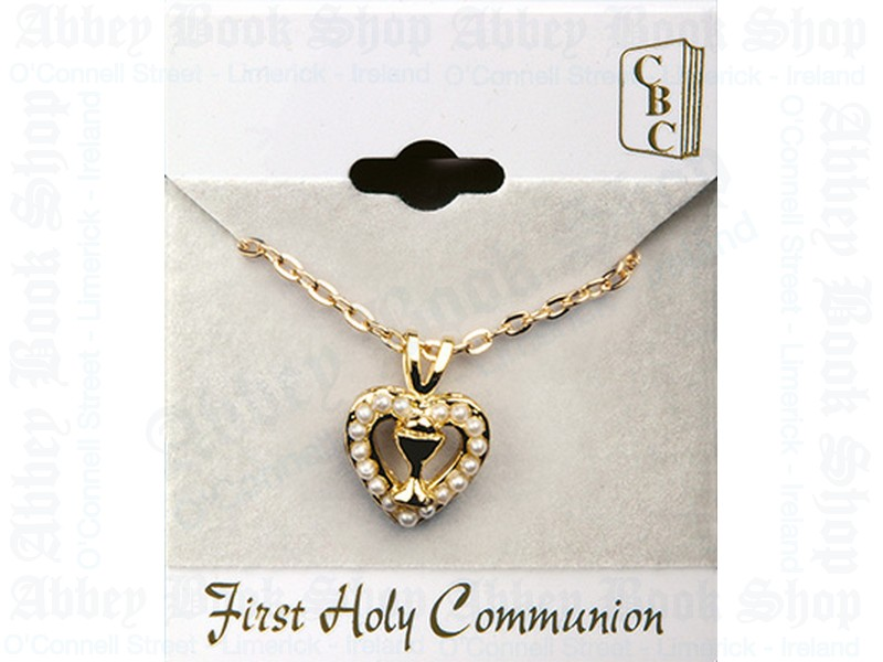 Communion Necklet/Heart/Chalice