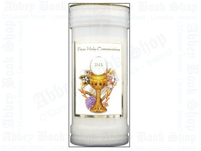 First Holy Communion Pillar Candle