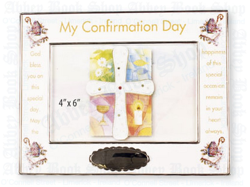 Photo Frame/Silver Plated/Confirmation