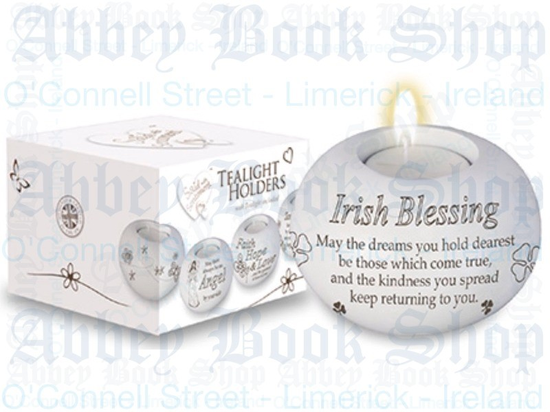 Tealight Candle Holder – Irish Blessing