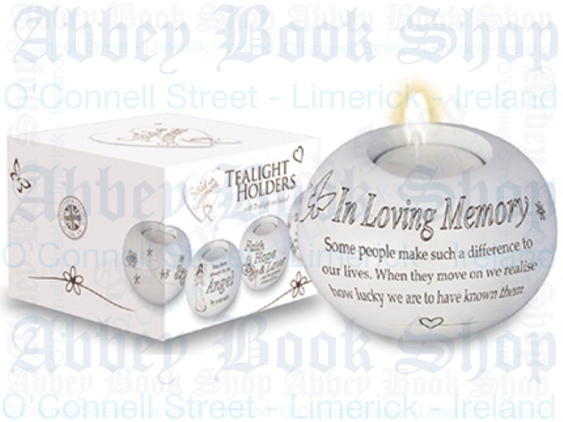 Tealight Candle Holder – Loving Memory