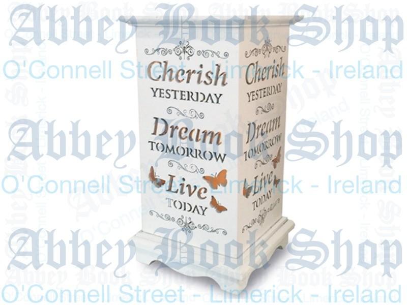 Wood Lantern Candle – Cherish Dream