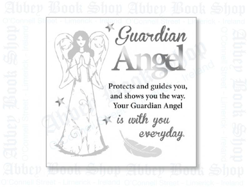 Block Art Wood Plaque – Guardian Angel