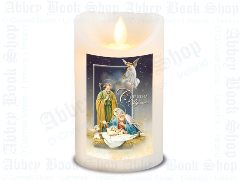 LED Candle – Scented – Christmas Blessings
