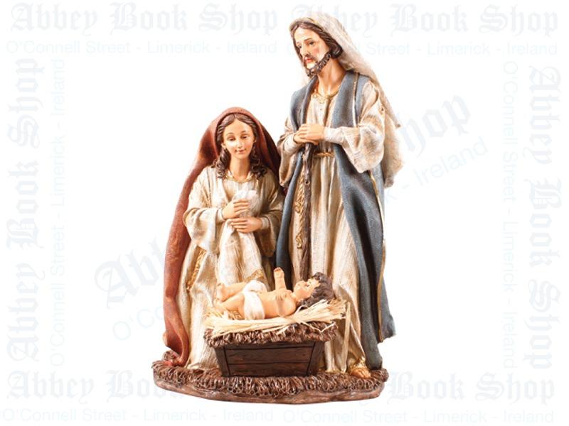 Nativity Set – Holy Family (Resin)