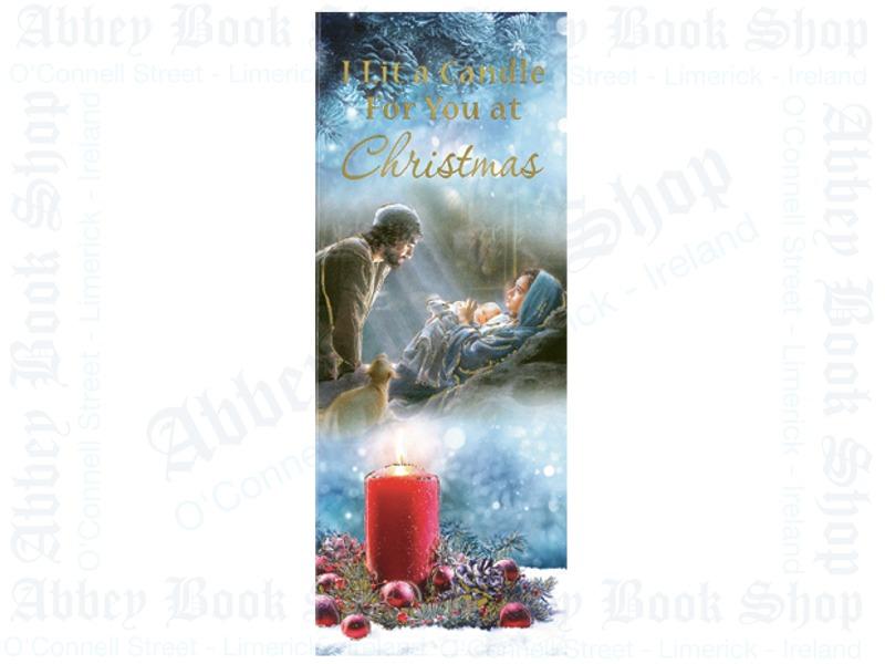 Christmas Card – I Lit A Candle