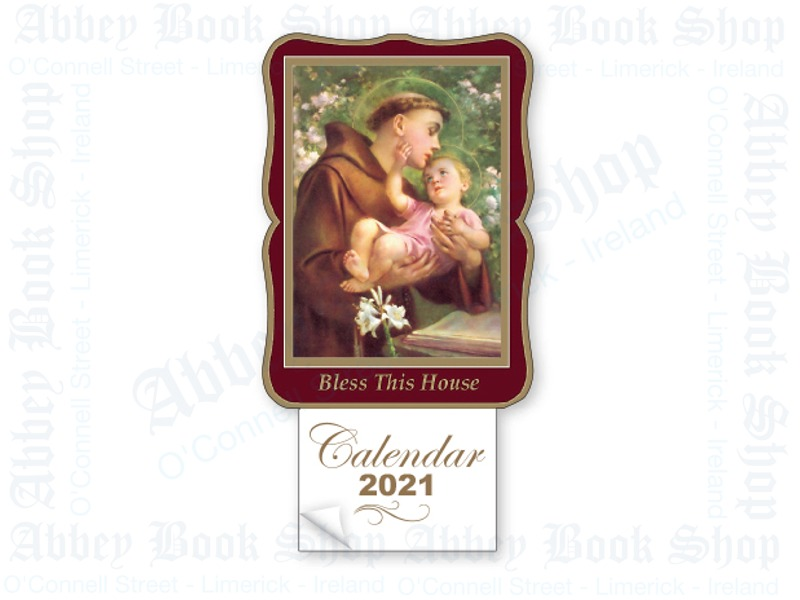 Calendar 2021 (Saint Anthony & Child)