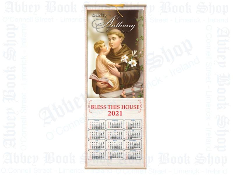 Calendar 2021 (Saint Anthony)
