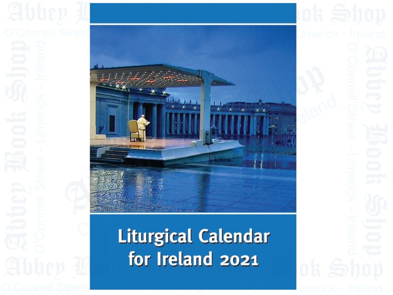2021 Liturgical Calendar For Ireland (Ordo)